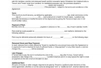 Free Copy Rental Lease Agreement  Residential Rental Agreement in Free Printable Residential Lease Agreement Template