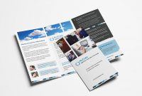 Free Corporate Trifold Brochure Template In Psd Ai  Vector intended for 2 Fold Brochure Template Free