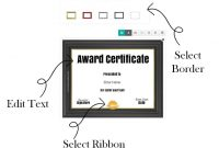 Free Custom Certificate Templates  Instant Download in Running Certificates Templates Free