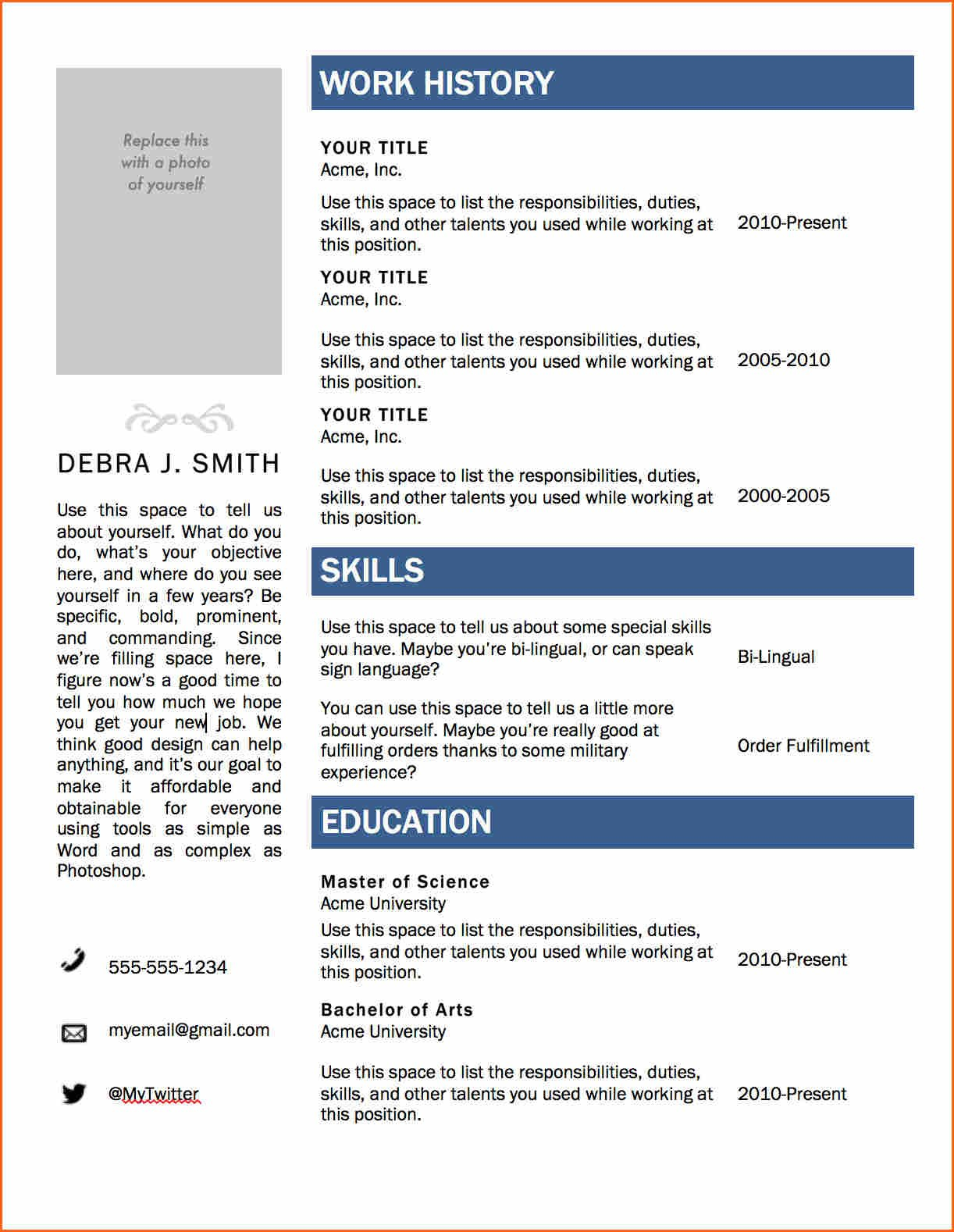Free Cv Template Word Resume Templates Microsoft Ideas Regarding Resume Templates Microsoft Word 2010