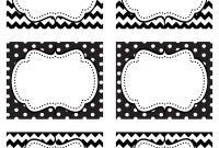 Free Design Label Templates  Happy Friday Free Printable Food for Black And White Label Templates