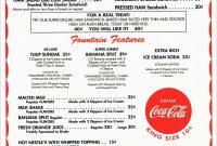 Free Diner Menu Template Beautiful  Best Of Printable Blank within Diner Menu Template