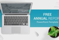 Free Download Annual Report Powerpoint Template For Presentations within Annual Report Ppt Template