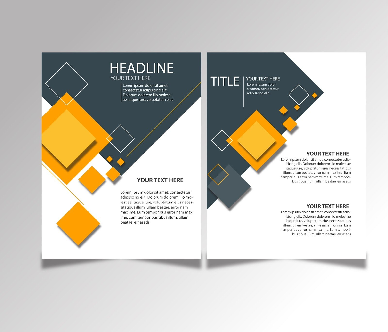 Free Download Brochure Design Templates Ai Files  Ideosprocess For Creative Brochure Templates Free Download