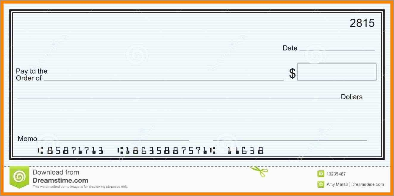 Free Editable Cheque Template Prettier  Blank Cheque Samples  Best Pertaining To Editable Blank Check Template