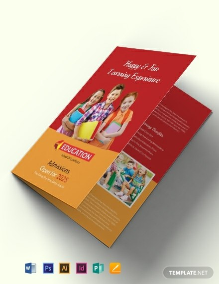 Free Educational Brochure Templates Download Readymade Samples In Brochure Design Templates For Education