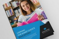 Free Educational Brochure Templates Download Readymade Samples with Brochure Design Templates For Education