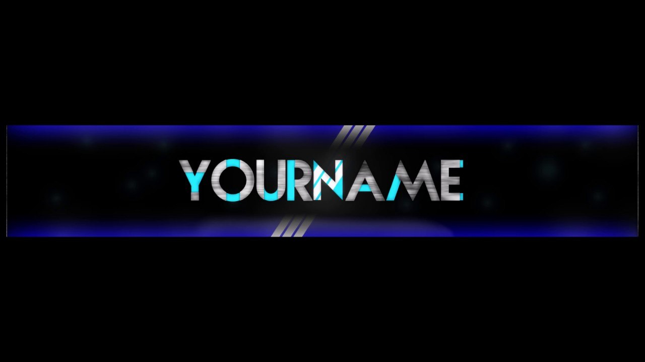 Free Epic Youtube Bannerchannel Art Template  Gimp  Download For Youtube Banner Template Gimp