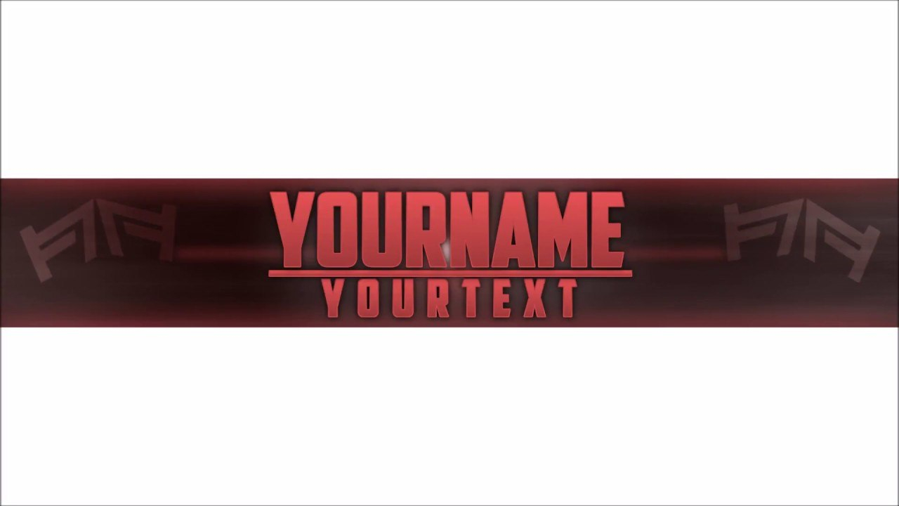 Free Epic Youtube Bannerchannel Art Template  Gimp  Download  Legendary Throughout Gimp Youtube Banner Template