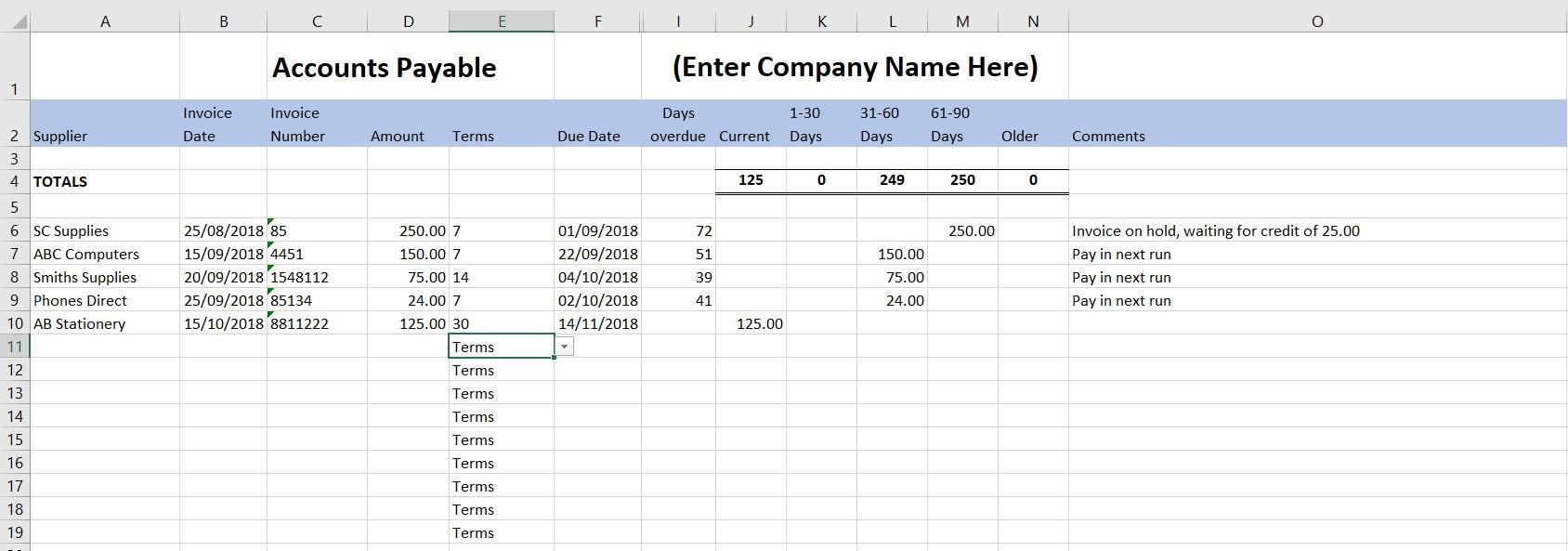 Free Excel Bookkeeping Templates   Accounts Spreadsheets With Regard To Bookkeeping For A Small Business Template