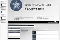 Free Executive Summary Templates  Smartsheet inside Executive Summary Project Status Report Template