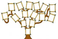 Free Family Tree Template Designs For Making Ancestry Charts with Fill In The Blank Family Tree Template