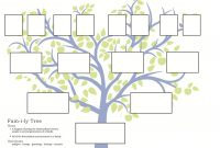 Free Family Tree Template To Print  Google Search …  Grandparents with regard to Blank Tree Diagram Template