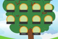 Free Family Tree Templates Word Excel Pdf ᐅ Template Lab inside Fill In The Blank Family Tree Template