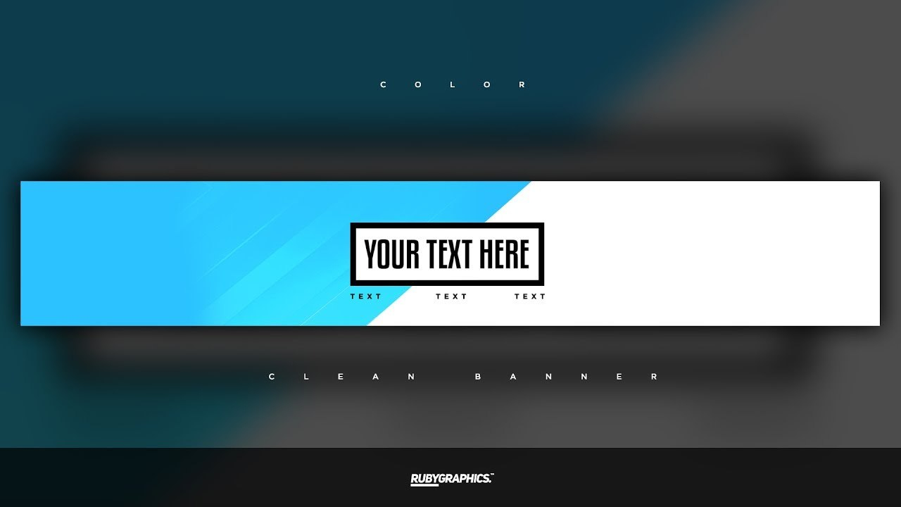Free Gfx Free Photoshop Banner Template Clean D Custom Colors Banner  Design Inside Adobe Photoshop Banner Templates