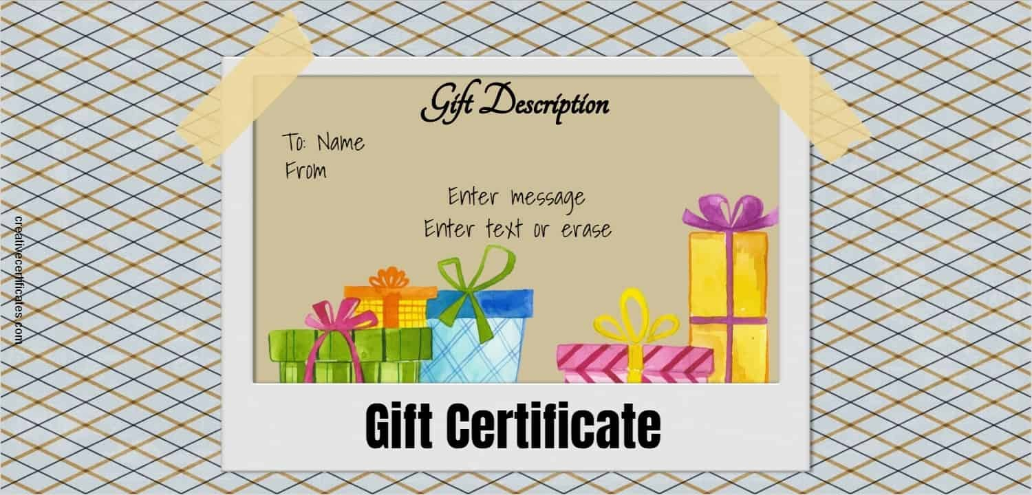 Free Gift Certificate Template   Designs  Customize Online And Intended For Microsoft Gift Certificate Template Free Word