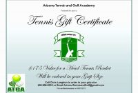 Free Golf Gift Certificate Templates Word Choice Image – Nurul Amal within Tennis Gift Certificate Template