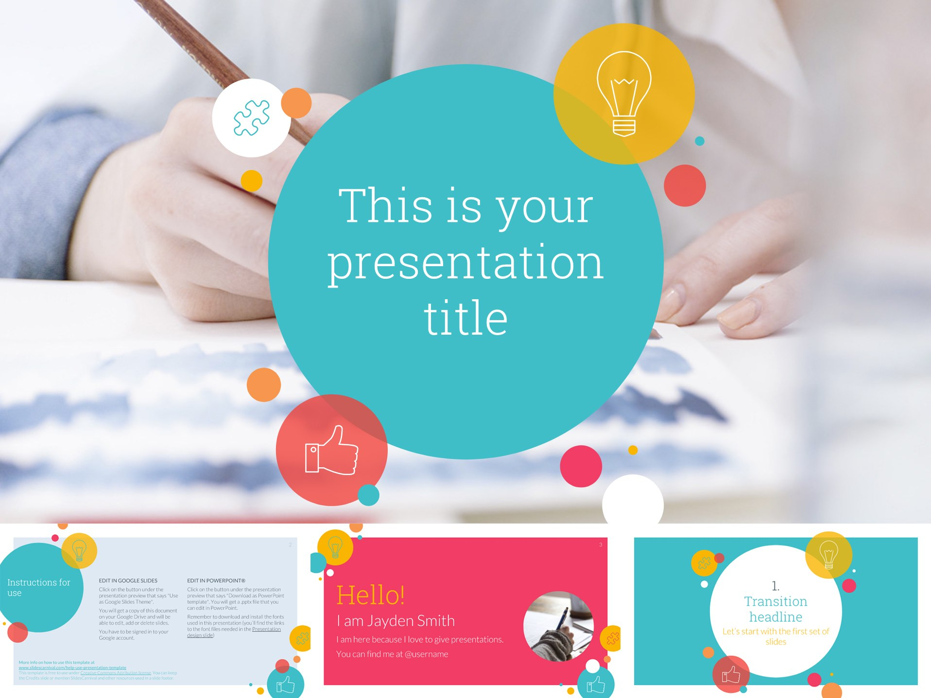 Free Google Slides Templates For Your Next Presentation Intended For Fun Powerpoint Templates Free Download