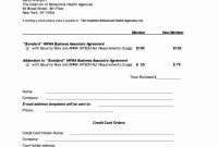 Free Hipaa Business Associate Agreement Form – Guiaubuntupt within Free Hipaa Business Associate Agreement Template 2018