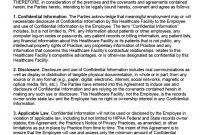 Free Hipaa Employee Nondisclosure Agreement Nda  Pdf  Word with Financial Confidentiality Agreement Template