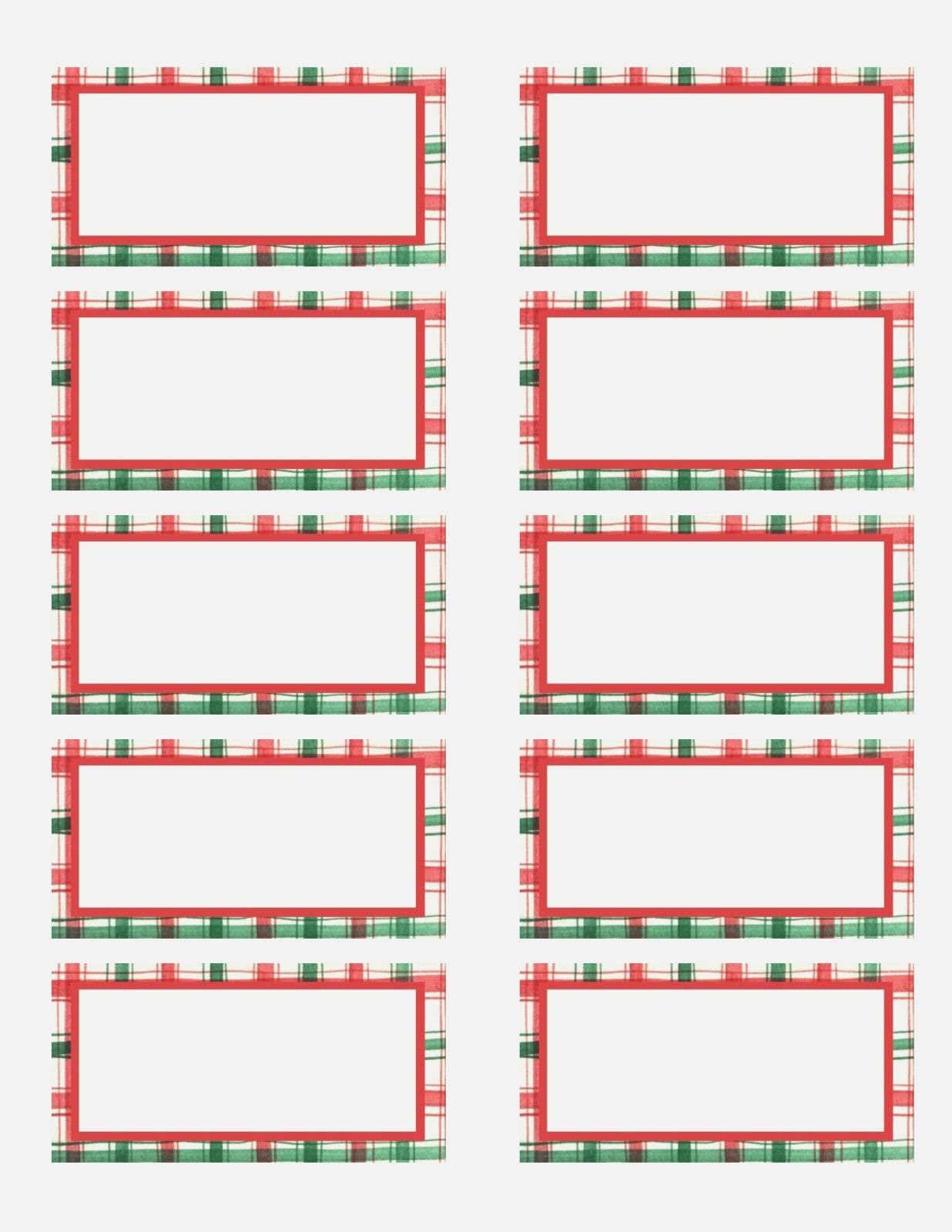 Free Holiday Label Templates  Kenicandlecomfortzone  Holiday Within Xmas Labels Templates Free