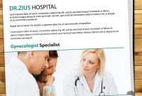 Free Hospital Vector Brochure Download  Brochure Design  Brochure with Healthcare Brochure Templates Free Download