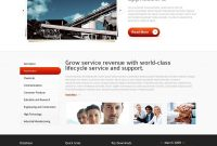 Free Html Website Template  Industrial Services within Business Website Templates Psd Free Download