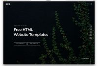 Free Html Website Templates   Colorlib in Free Html Menu Templates
