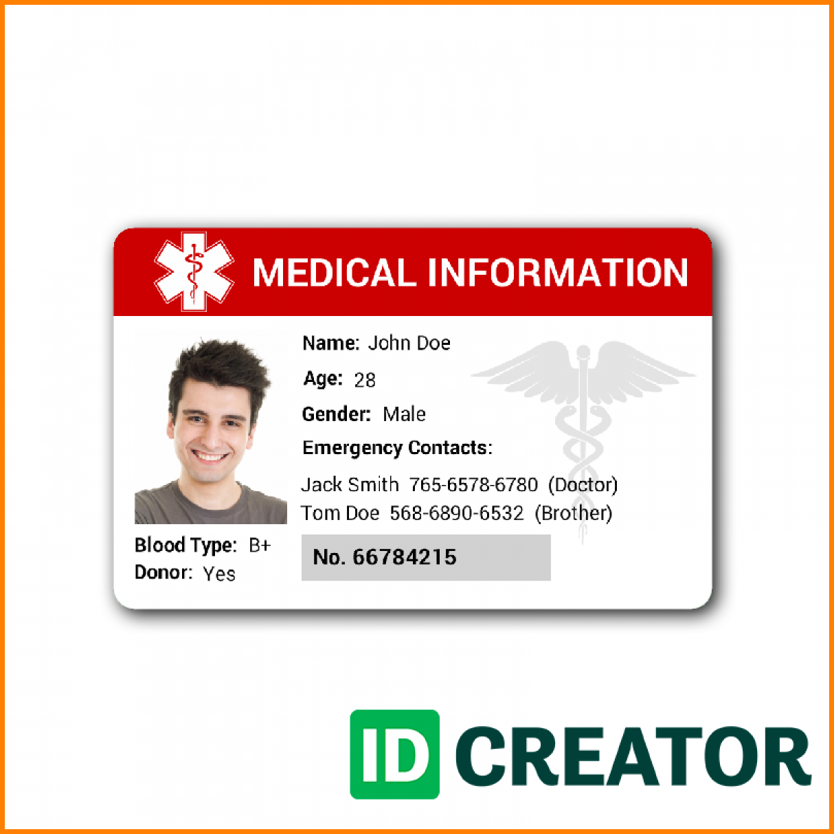 Free Id Card Templates Membership Template Church Psd Inside Sample Of Id Card Template