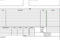 Free Independent Contractor Invoice Template Excel Pdf Word Simple with regard to Contractor Invoices Templates