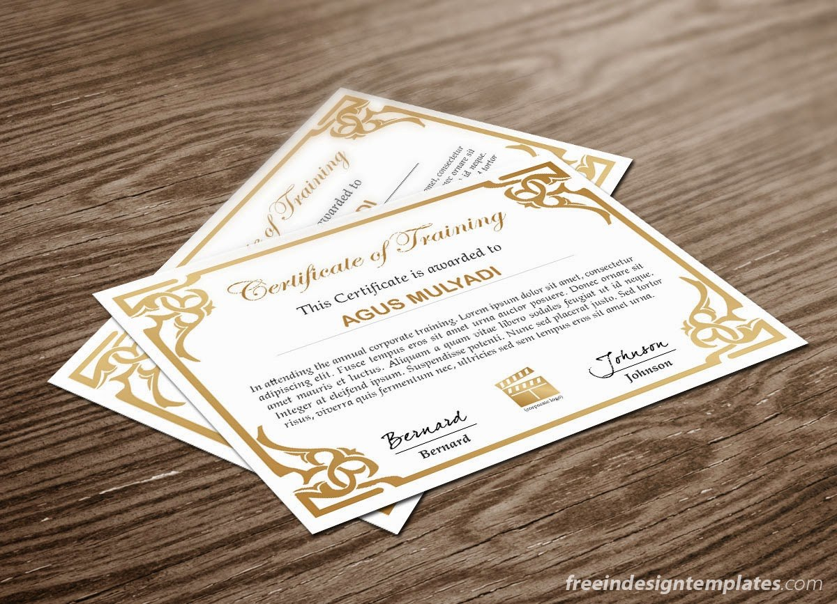 Free Indesign Certificate Template   Free Indesign Templates Download In Indesign Certificate Template