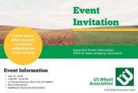 Free Invitation Card Templates  Examples  Lucidpress for Event Invitation Card Template