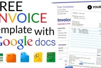Free Invoice Template  How To Create An Invoice Using Google Docs pertaining to Invoice Template Google Doc