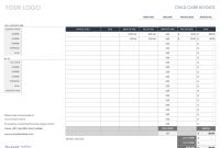 Free Invoice Templates  Smartsheet pertaining to Painter Invoice Template