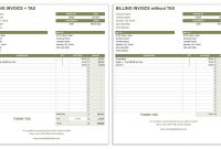 Free Invoice Templates  Smartsheet within Media Invoice Template