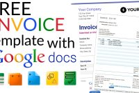 Free Invoice Templates With Google Docs with regard to Google Doc Invoice Template