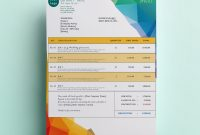 Free Invoice Templatesinvoiceberry  The Grid System with Cool Invoice Template Free