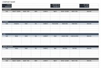Free Itinerary Templates  Smartsheet for Business Travel Itinerary Template Word