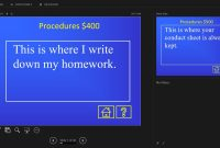 Free Jeopardy Templates For The Classroom inside Quiz Show Template Powerpoint