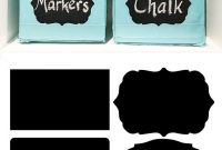 Free Label Templates To Organize Your Craft Room  Diy Craft pertaining to Craft Label Templates