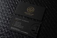 Free Lawyer Business Card Template  Rockdesign regarding Lawyer Business Cards Templates