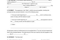 Free Loan Agreement Templates  Pdf  Word  Eforms – Free Fillable in Consumer Loan Agreement Template