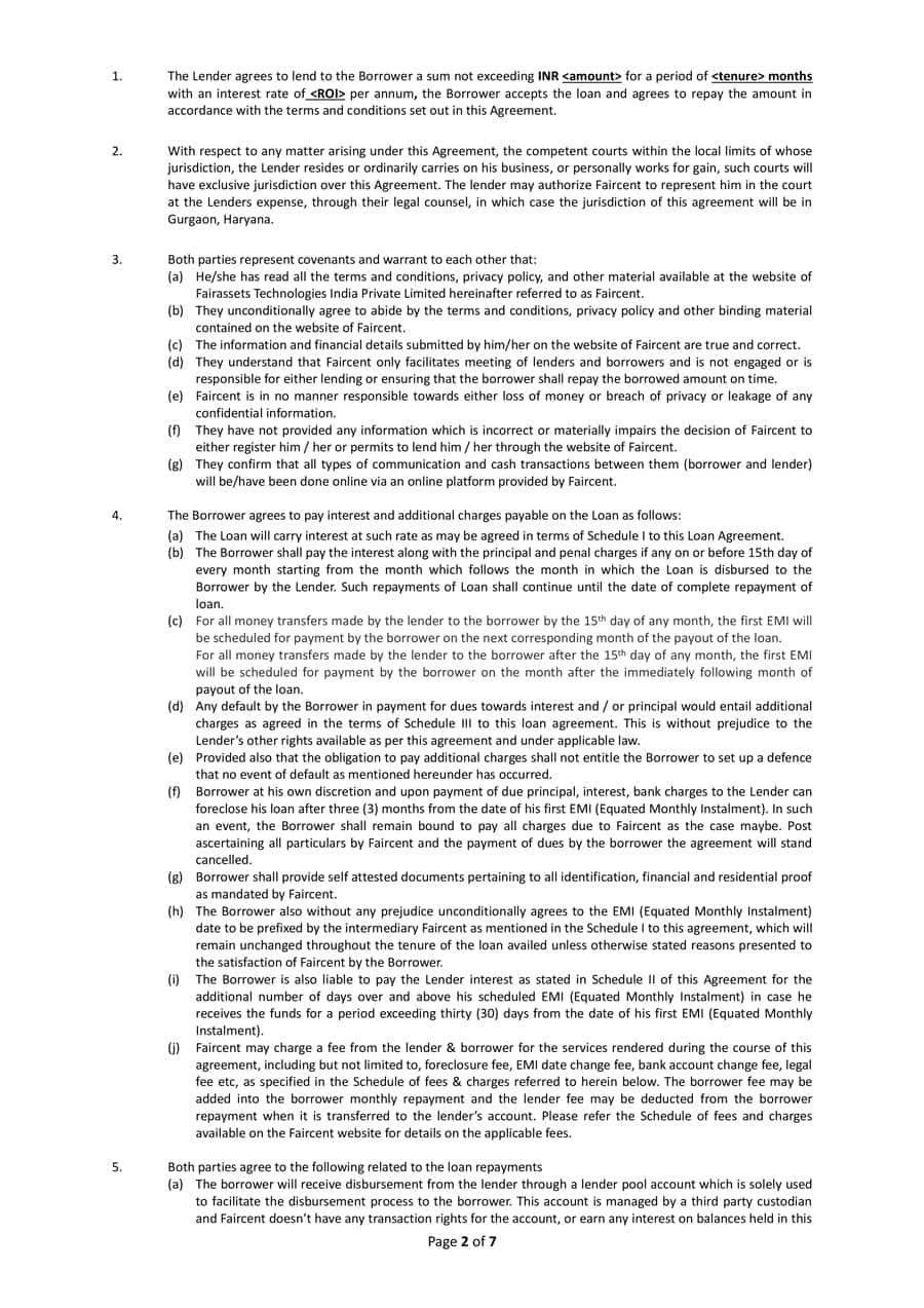 Free Loan Agreement Templates Word  Pdf ᐅ Template Lab In Trade Finance Loan Agreement Template