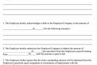 Free Loan Agreement Templates Word  Pdf ᐅ Template Lab with regard to Employee Repayment Agreement Template