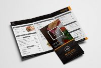 Free Menu Templates Pack Vol  Psd  Ai For Photoshop  Illustrator in Takeaway Menu Template Free
