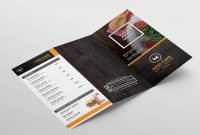 Free Menu Templates Pack Vol  Psd  Ai For Photoshop  Illustrator inside Adobe Illustrator Menu Template