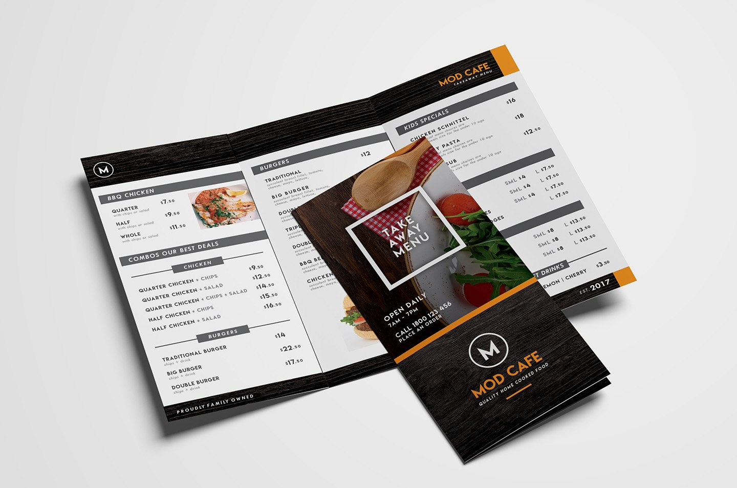 Free Menu Templates Pack Vol  Psd  Ai For Photoshop  Illustrator Intended For Tri Fold Menu Template Photoshop