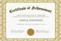 Free Microsoft Certificate Templates  Andrew Gunsberg regarding Template For Certificate Of Appreciation In Microsoft Word