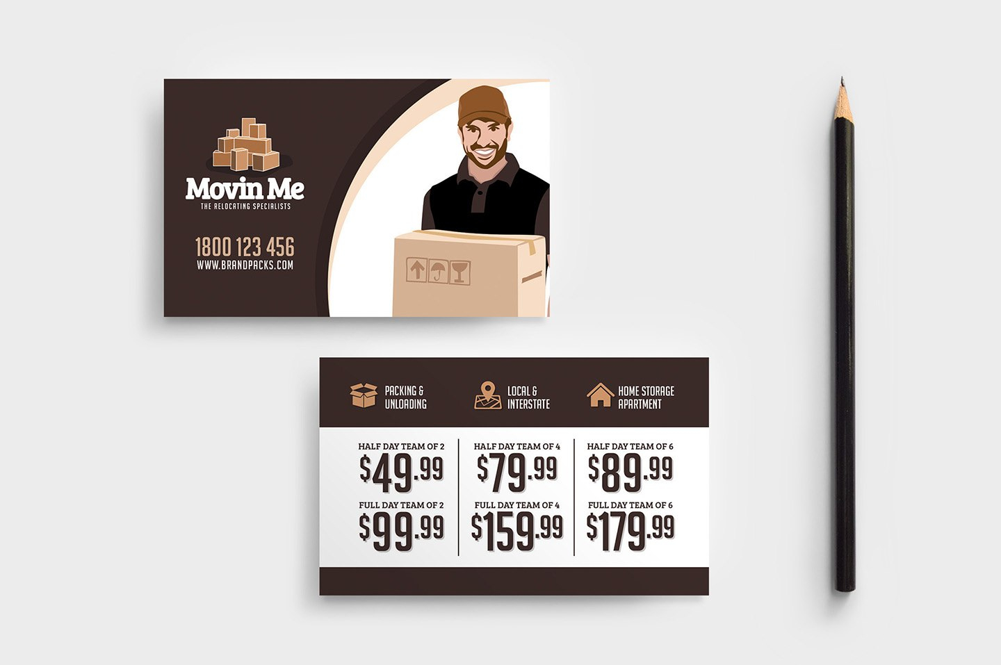 Free Moving House Poster Template For Photoshop  Illustrator With Regard To Free Moving House Cards Templates