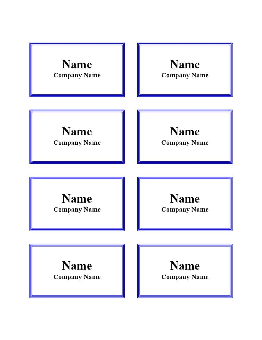 Free Name Tag  Badge Templates ᐅ Template Lab Regarding Visitor Badge Template Word